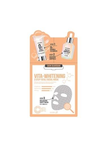 Ancors Skin Guardian Vita Whitening - E Vitaminli Beyazlatıcı Yüz Maskesi Renksiz